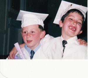 Sam and Tyler K5 graduation